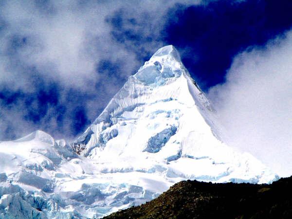 Góra Alpamayo 5947m - zdjęcie z blog podróżniczy 4challenge