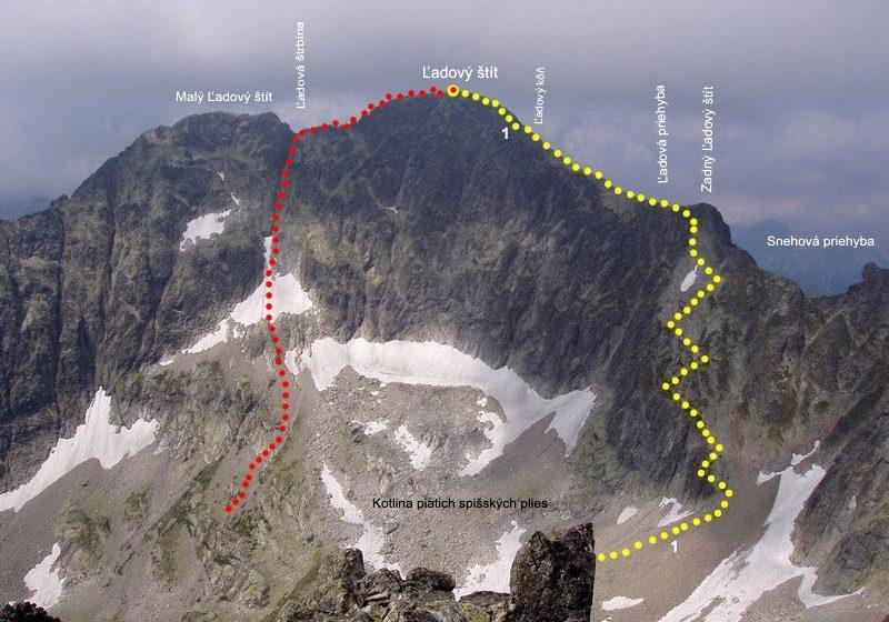 Trasa wspinaczkowa 4challenge na Rynnę Komarnickich - zdjęcie z blog podróżniczy 4challenge