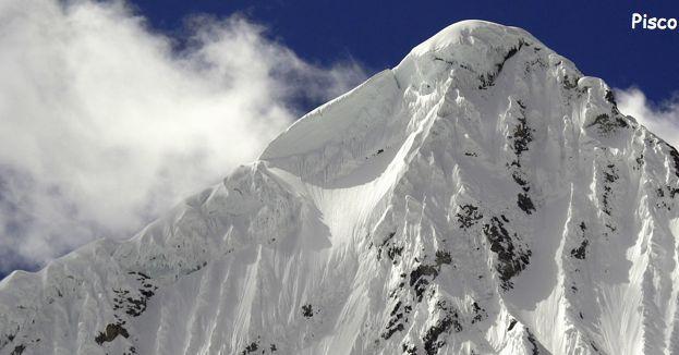 Zaśnieżone szczyty Pisco - zdjęcie z bloga 4challenge