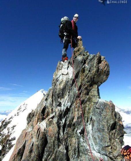Wyprawa na Monte Rosa - zdjęcie z bloga 4challenge