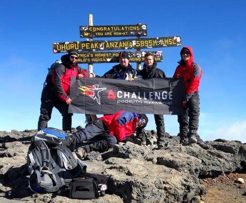Załoga 4challenge na Kilimandżaro - zdjęcie z bloga podróżniczego 4challenge
