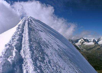Zborze góry Mt. Blanc 4810m - zdjęcie z blog podróżniczy 4challenge