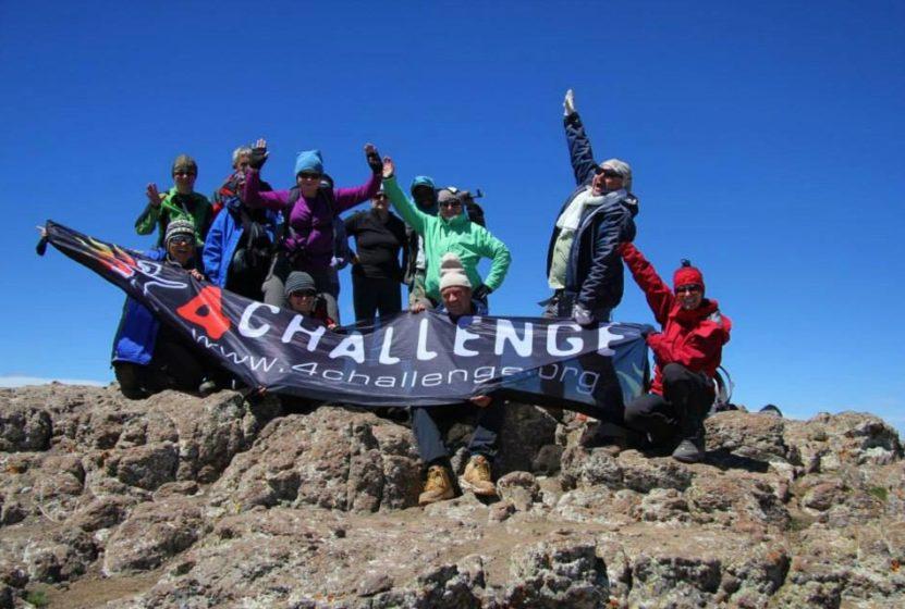 Ekipa 4challenge zdobywa kolejny szczyt! - zdjęcie z bloga 4challenge