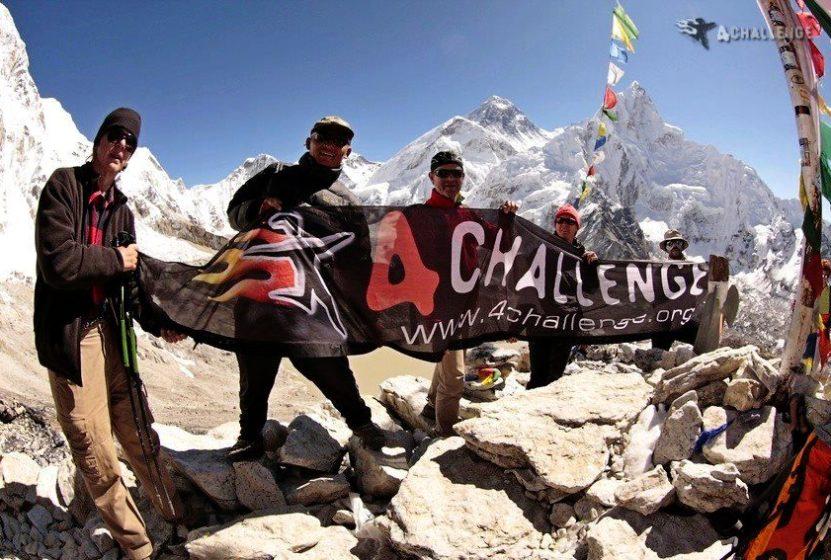 Ekipa 4challenge w drodze na kolejny szczyt - zdjęcia z bloga 4challenge