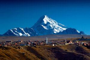 Trekking w Boliwii - Wyprawa na Huayna Potosi 6088 m - na zdjęciu