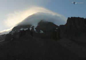 Kazbek we mgle