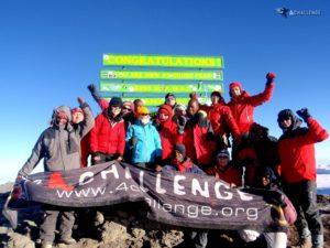 Radość na Uhuru Peak 5895 m - Wyprawa na Kilimandżaro