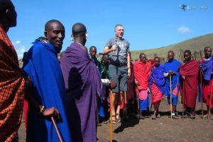 Wśród Masajów - Tanzania - Wycieczka na Kilimandżaro