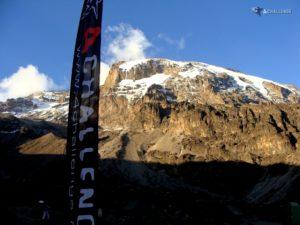 Wyprawa na Kilimandżaro - widok z obozu Barranco 3950 metrów