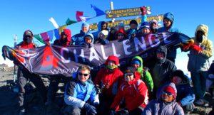 fot. grupa 4challenge na szczycie - Wyprawa na Kilimandżaro 02.2010