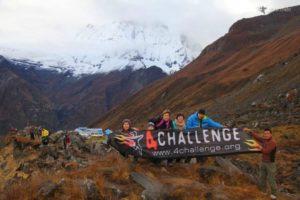 Annapurna Base Camp - 4challenge