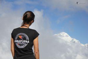 Trekking do Sanktuarium Annapurny - widok z Poon Hill - w tle Dhaulagiri - 4challenge