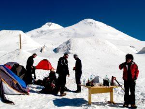 Wyprawa na Elbrus 2010 - Prijut