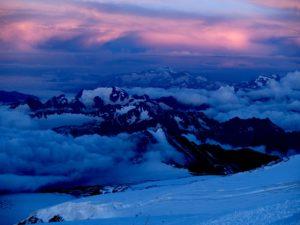 Wyprawa na Elbrus 2010 - powyżej Beczek
