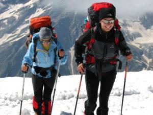 Wyprawa na Elbrus 2010 - podejście do Prijuta