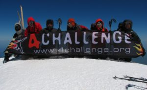 Wyprawa na Elbrus 2010 - grupa na szczycie Elbrusa 5642 m