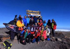 Wyprawa na Kilimandżaro - grupa 4challenge na Uhuru Peak 5895m - 21.01.2017
