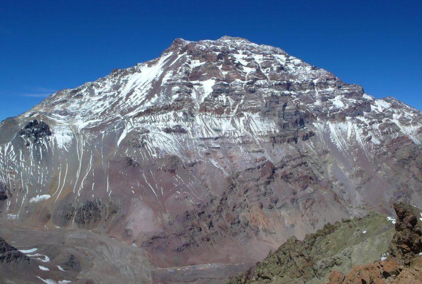 Szczyt Aconcagua - zdjęcie z bloga 4challenge