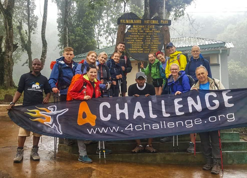 Kilimandżaro, tanzania, gate, Machame route-min