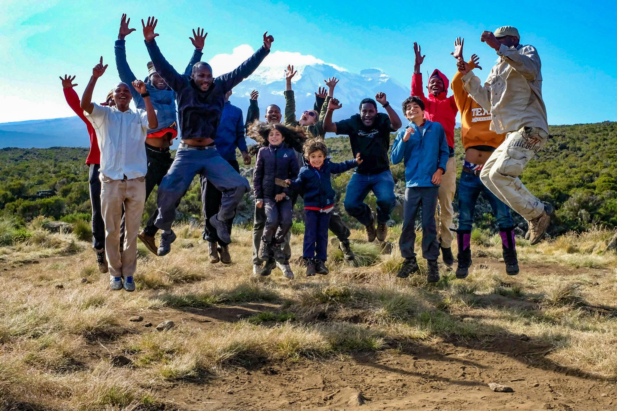 Dzieci na Kilimandżaro