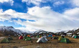 Islandia - camping